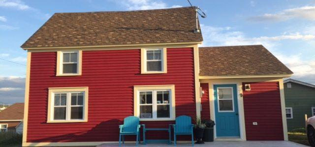 Gezellige huisjes op Newfoundland en change of plans