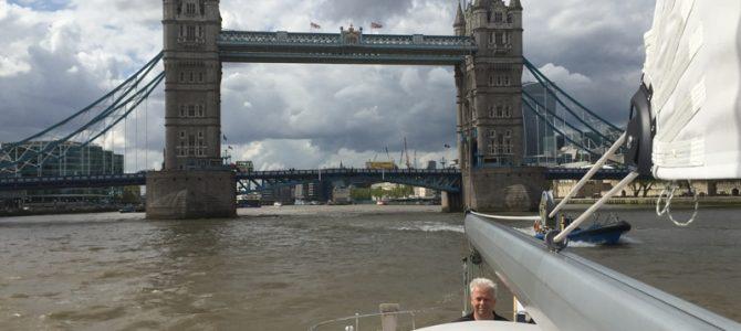 Weekje uitwaaien op de Noordzee, in Chatham en Londen