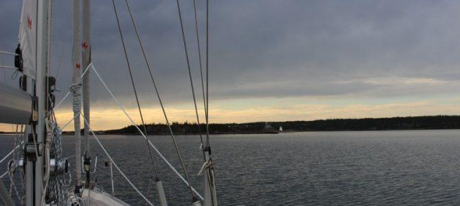 Nova Scotia – ankerbaai Arichat