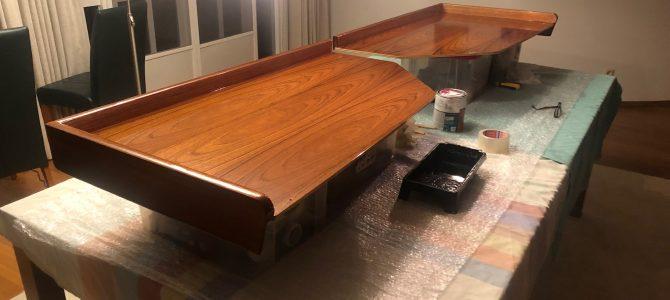 Kaartentafels kuip weer als nieuw
