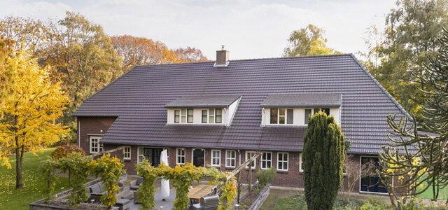 Het huis staat te koop